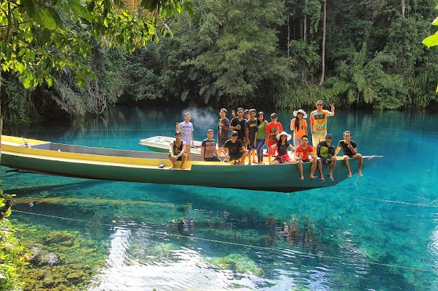 Danau Labuan Cermin Kalimantan Timur, Spot Keren Pecinta Fotografi