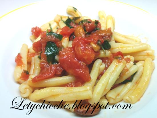 Pasta alla trapanese - Letychicche