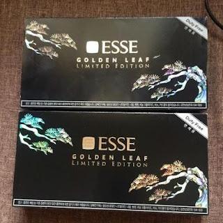 thuoc la Esse golden leaf limited Han Quoc