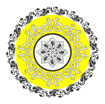 Free Clipart Mandala Series RT009