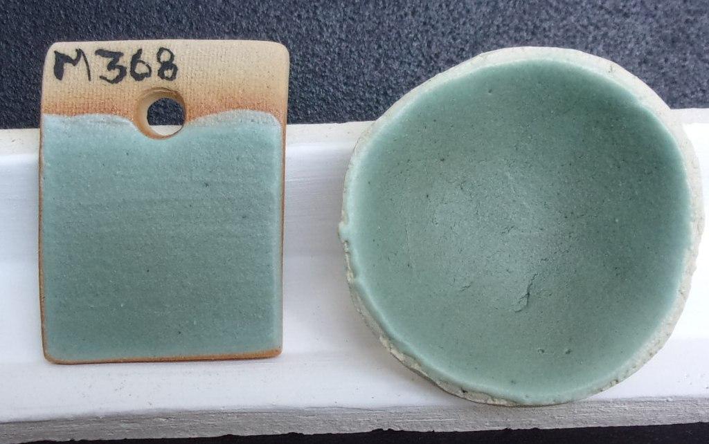 El barro y yo f rmula m368 esmalte turquesa satinado for Oxidos para ceramica