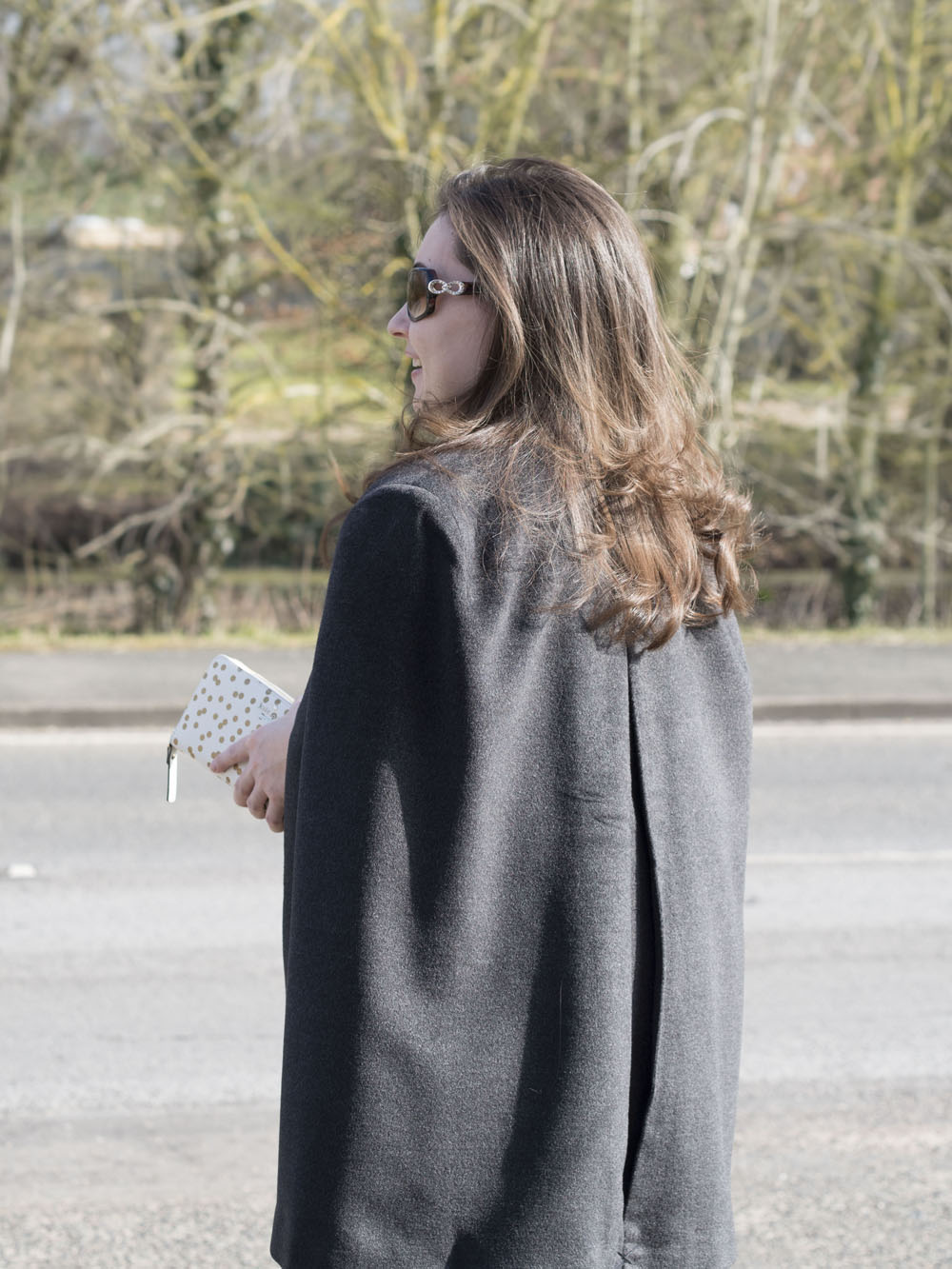 OOTD | Stepping Into Spring With A Cape Coat