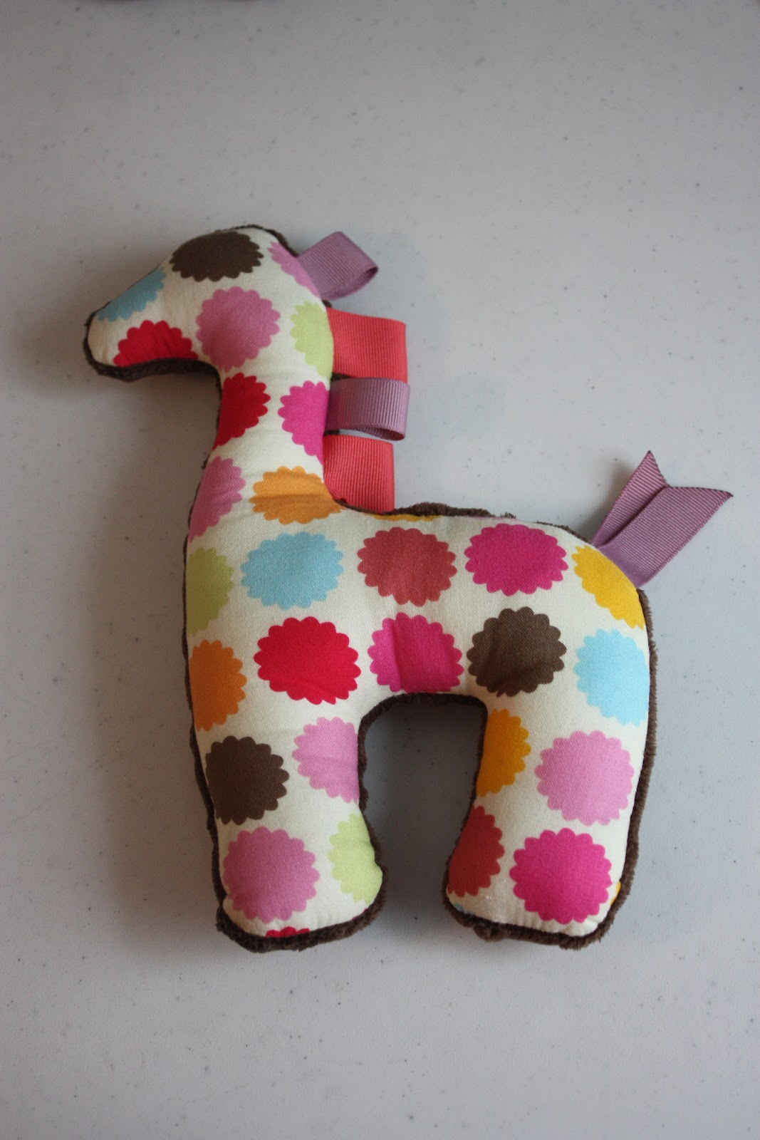 Then I Made This Dino Taggie See Tutorial Here