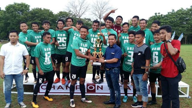 UNM Juarai HIPMI Sulsel Cup I