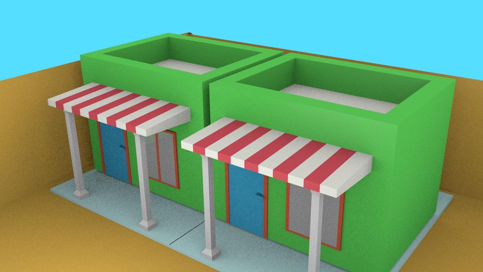 Cara membuat desain rumah di Blender. Blender 3d. Bagaimana ...