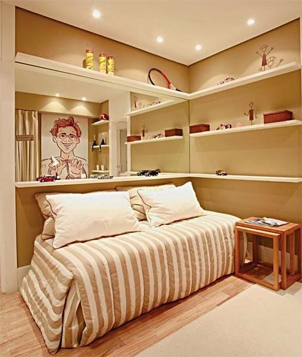 Decoración dormitorio juvenil pequeño