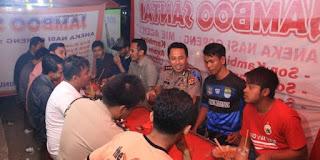 Kapolres Pertemukan Dua Pendukung Fanatik Sepakbola di Karangpawaitan