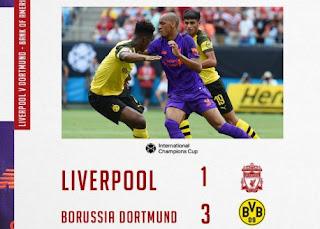 Liverpool vs Borussia Dortmund 1-3 ICC 2018 Video Gol & Highlights