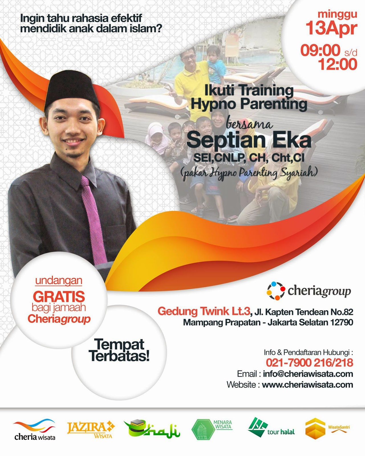Training Hypno  Parenting Syariah