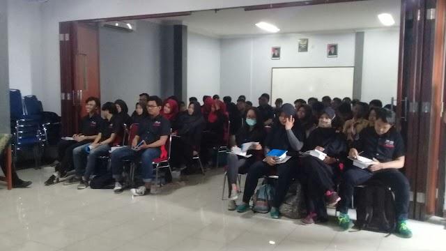 Puluhan Pelajar SMK Antusias Ikuti Pelatihan Jurnalistik di SMK Ghama Caraka
