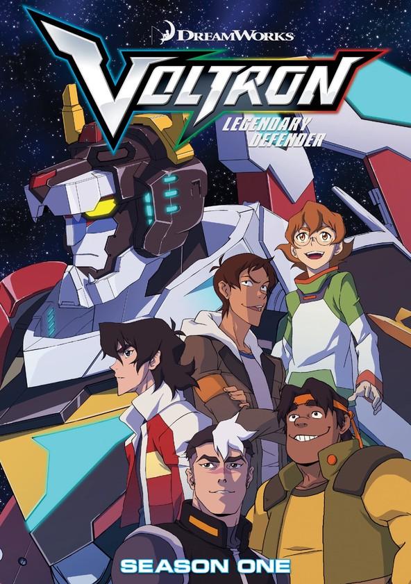 Voltron: El defensor legendario Serie Completa 720p (6 Temporadas hasta la fecha)
