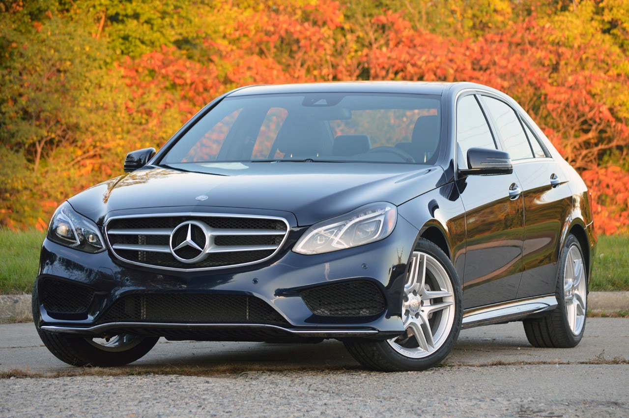 © Automotiveblogz: 2014 Mercedes-Benz E350 4Matic Sedan ...