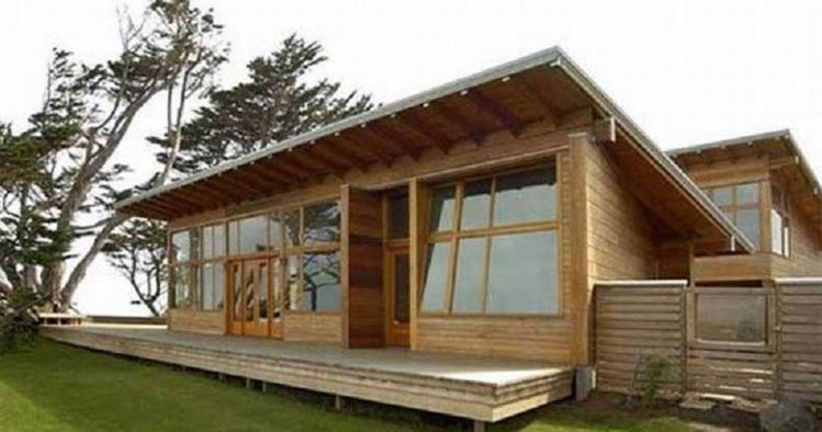 10 Desain Terbaru Rumah Semi Permanen Minimalis Dari Kayu
