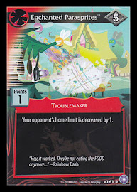 My Little Pony Enchanted Parasprites The Crystal Games CCG Card