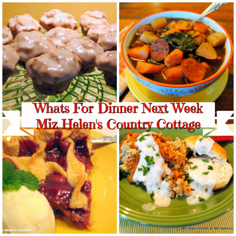 Whats For Dinner Next Week * Week of 12-8-19
