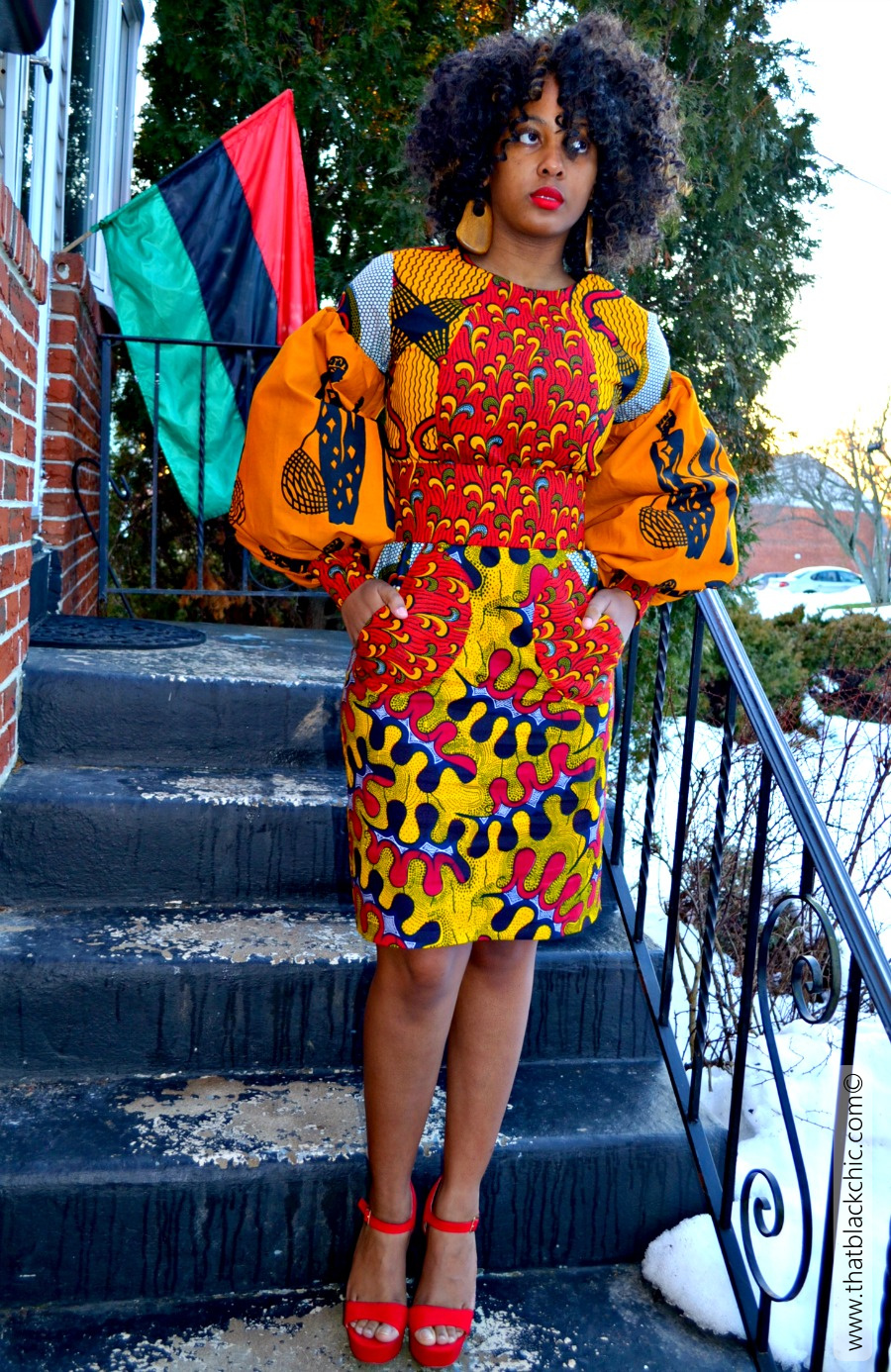 Sew What African Quot Pot Luck Quot Dress That S What
