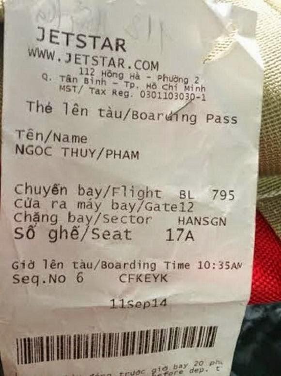 Khách hàng tố nhân viên Jetstar Pacific ghi khống số cân