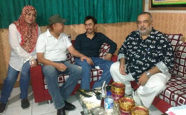 Dibesuk Teman Artis, Aa Gatot: Saya Korban Persaingan Perebutan Kursi Ketua Umum Parfi