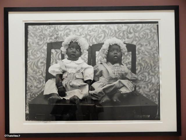 seydou keita photographe bamako mali noir et blanc portrait bébés jumelles