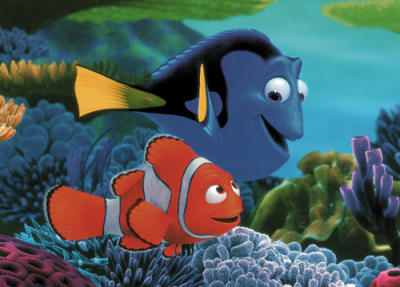 Pixar Cars Wallpaper Border Disney Finding Nemo Fish Cartoon Character