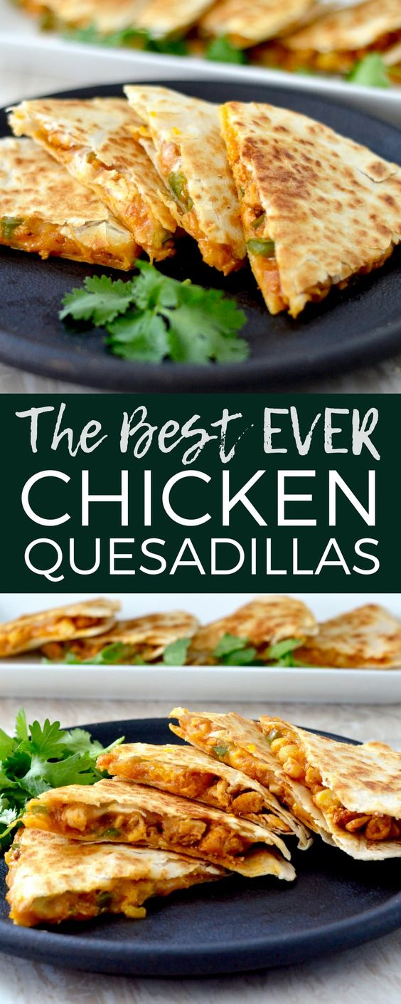 Best Chicken Quesadilla