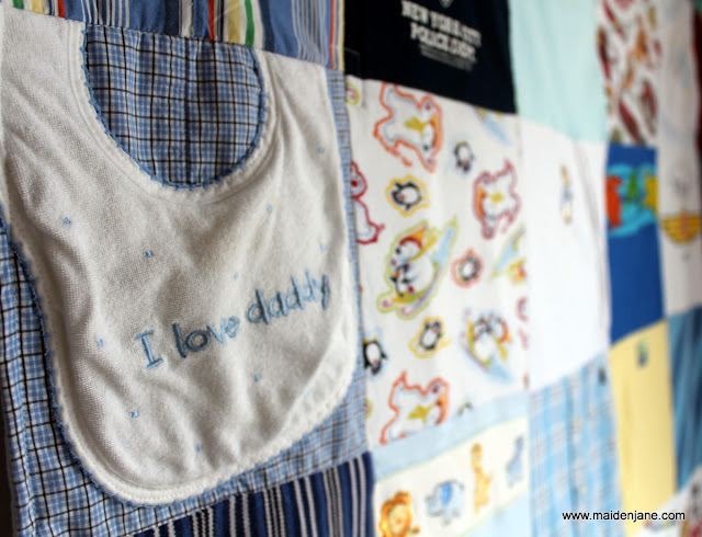 Lil' Boy Blue – Custom Baby Clothes Memory Blankets