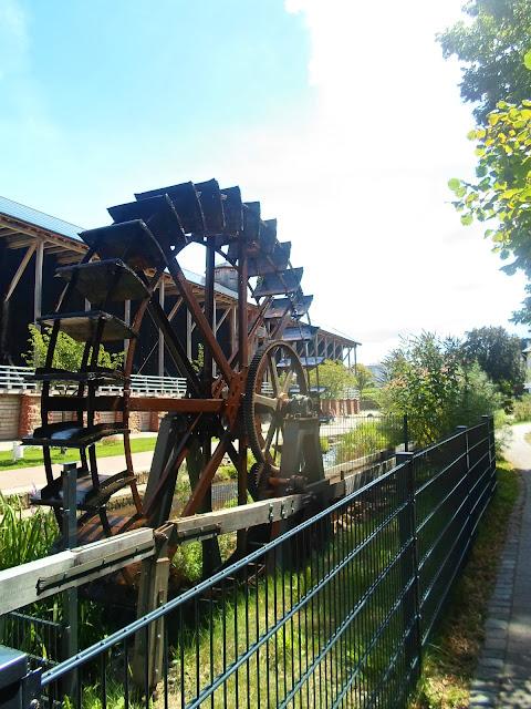 Wasserrad an der Saline Bad Dürkheim