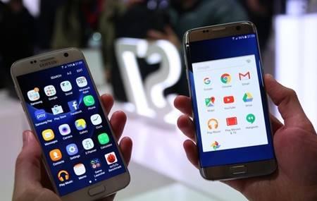 Galaxy S7 tem tela de 5,1 polegadas com resolução QHD