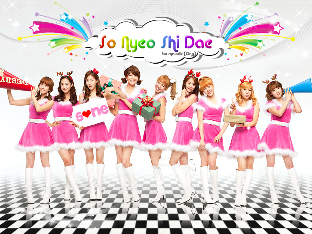 Wallpaper Background Cute Pink Dhila Full House Snsd