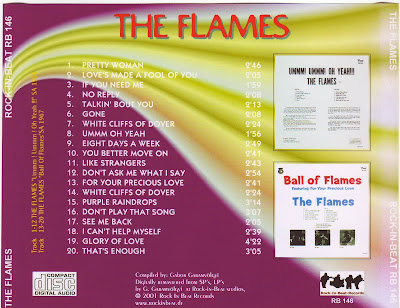 The Flames - Ummm,Ummm, Oh Yeah \ Ball Of Flames (1965\1970)  South Africa
