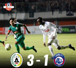 PSS Sleman vs Arema FC 3-1 Highlights
