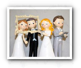 Castello dei Solaro - statuina personalizzata per torta di nozze