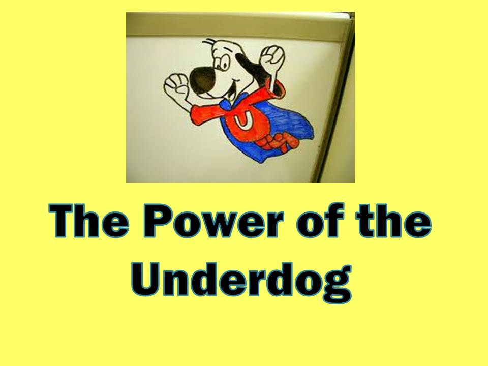 the underdogs essay Underdogs demetrio macias', hope for the commoners in the underdogs written by mariano azuela, we are introduced to a character that strongly symbolizes the fuel of the mexican revolution.
