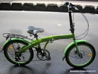 Sepeda Lipat Exotic 20-2658-6 Rem Cakram 20 Inci