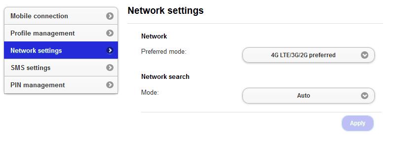 Setting jaringan