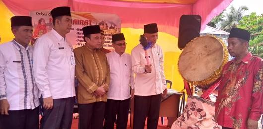Wako Mahyeldi Resmikan Masjid Nurul Hikmah