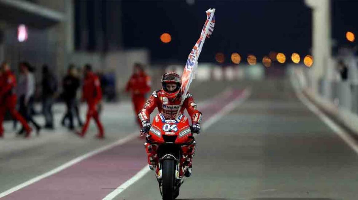 MotoGP 2019: in Qatar trionfa Dovizioso su Ducati.