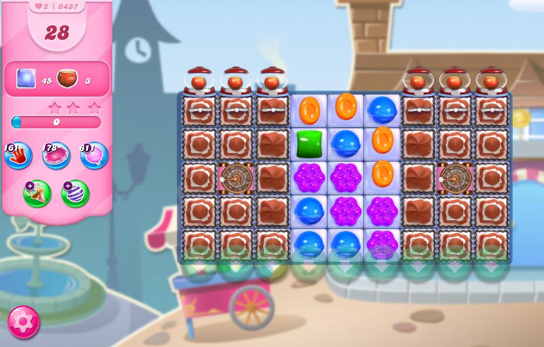 Candy Crush Saga level 6437