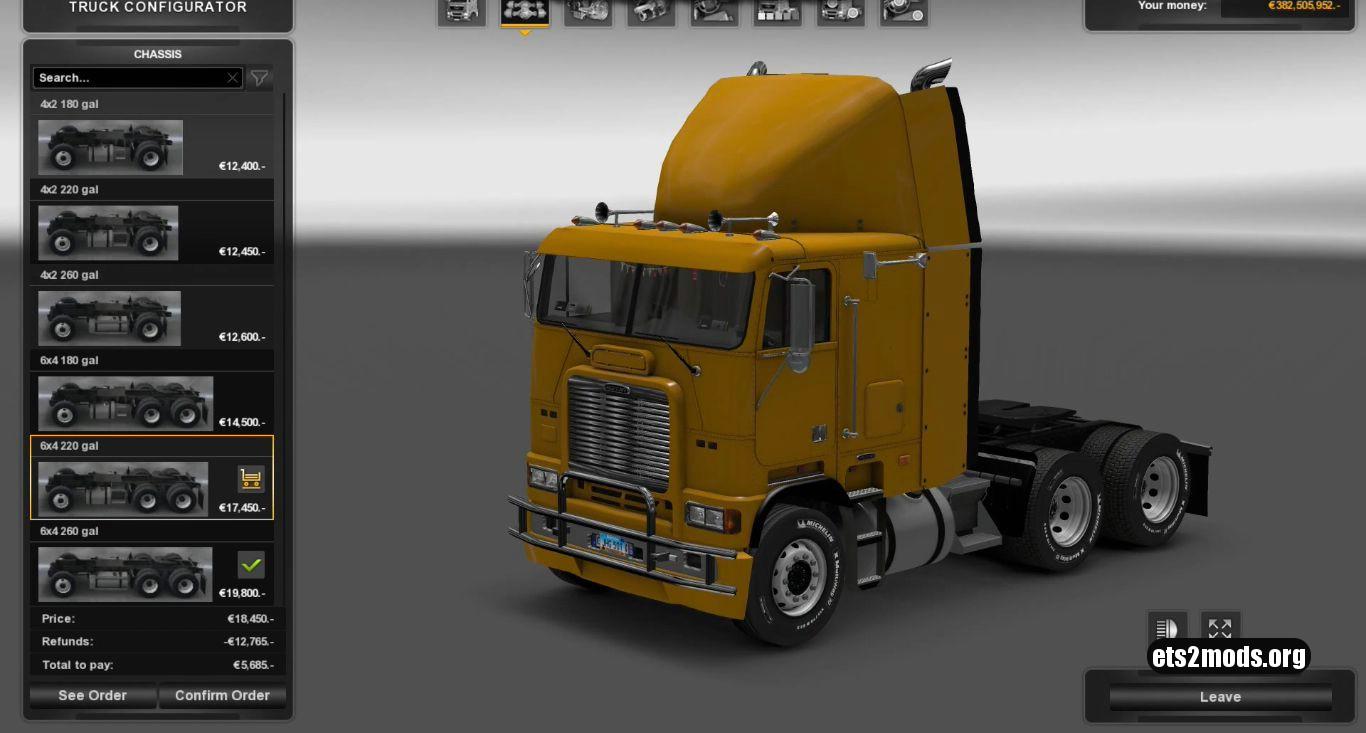 Truck – Freightliner FLB V 1.1 (Edited) (1,26)