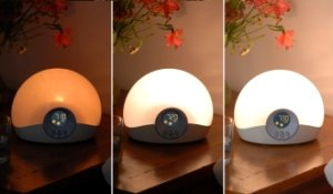 Quiet Alarm Clock, woke you with Sunrise and Sunset £47.65 Lumie Bodyclock, Open box