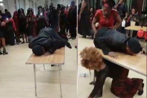 Wahala Dey oo: See Viral Video Of One Corner Dance At Burial