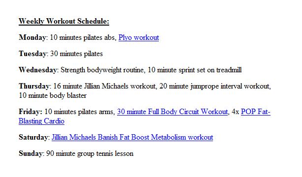 100+ Exercise Schedule For Teenage Girls – yasminroohi