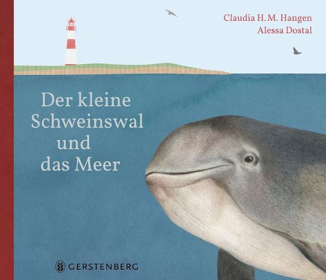 """In meinem neuesten Bücherboot stelle ich Euch zahlreiche Kinderbücher zum Thema """"Wale"""" vor. Und auch für die Eltern bzw. Erwachsenen ist etwas dabei :) Jedes der vorgestellten Kinder- und Jugendbücher darf ich am Ende des Posts auch an Euch verlosen - damit Ihr voller Wal-Faszination schmökern könnt! Hier seht Ihr übrigens das Cover zu """"Der kleine Schweinswal und das Meer""""."""