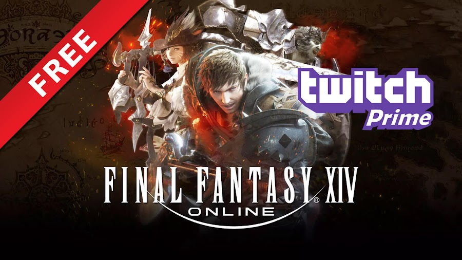 final fantasy 14 free twitch prime