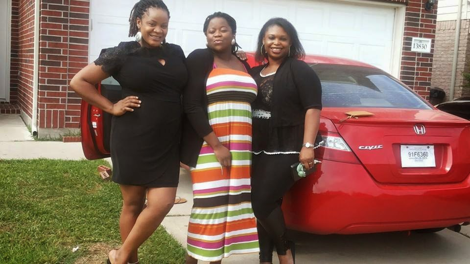Photos Heavily Pregnant Uche Ogbodo In Us For Baby