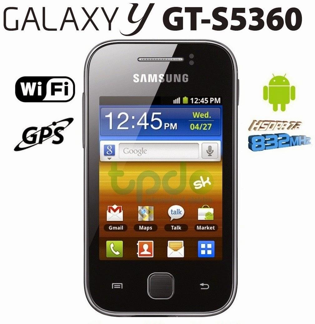 Hard Reset Samsung Galaxy Y S5360