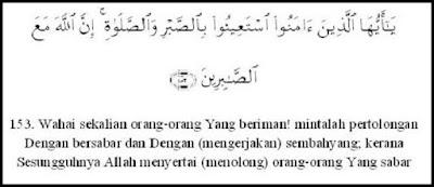Dalil Al Qur'an dan Hadist tentang Sabar - berbagaireviews.com