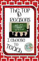 The Top 10 Reasons I Choose to Teach