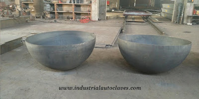 Hemispherical Tank Heads Were Exported To America