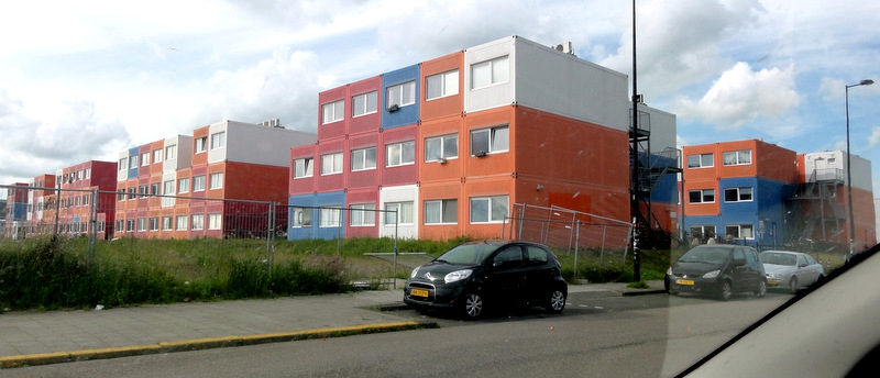 Goede Keetwonen: Shipping Container Housing for Students in Amsterdam ZO-37
